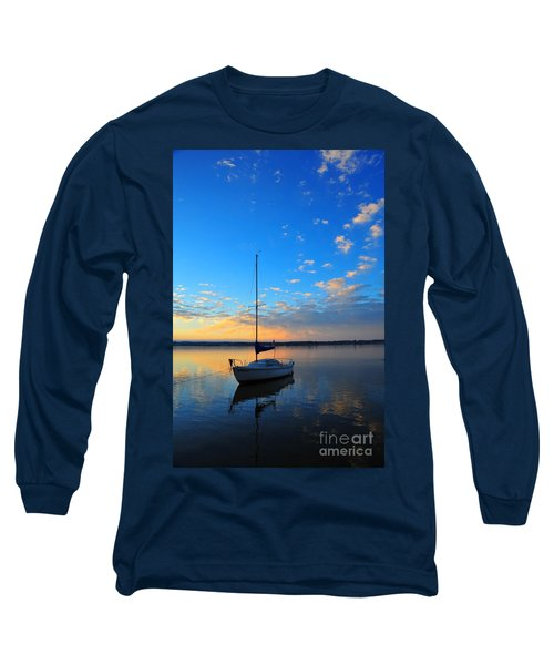 Long Sleeve T-Shirt featuring the photograph Sailing 2 by Terri Gostola