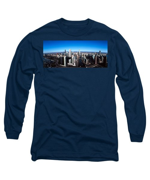 Skyscrapers In A City, Trump Tower Long Sleeve T-Shirt
