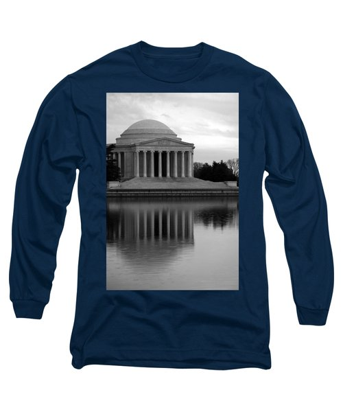 Long Sleeve T-Shirt featuring the photograph The Jefferson Memorial by Cora Wandel