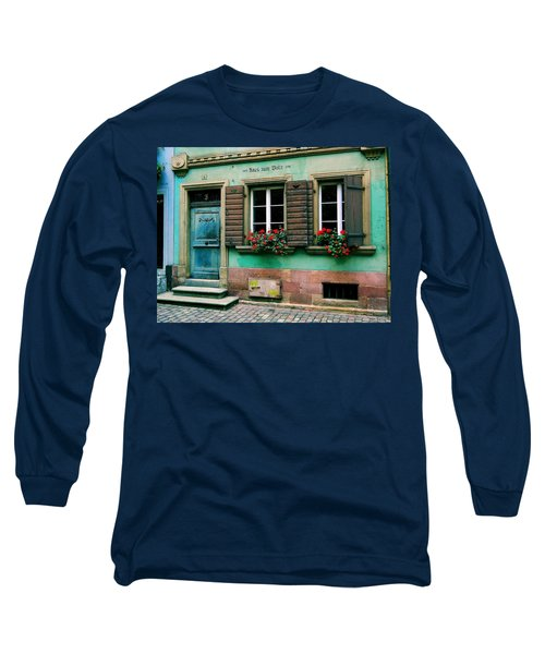 Long Sleeve T-Shirt featuring the photograph Windows And Doors 6 by Maria Huntley