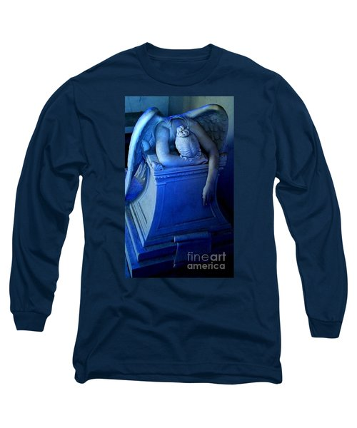 Long Sleeve T-Shirt featuring the photograph Angelic Sorrow by Michael Hoard