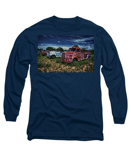 Long Sleeve T-Shirt featuring the photograph 3 In A Row by Ken Smith