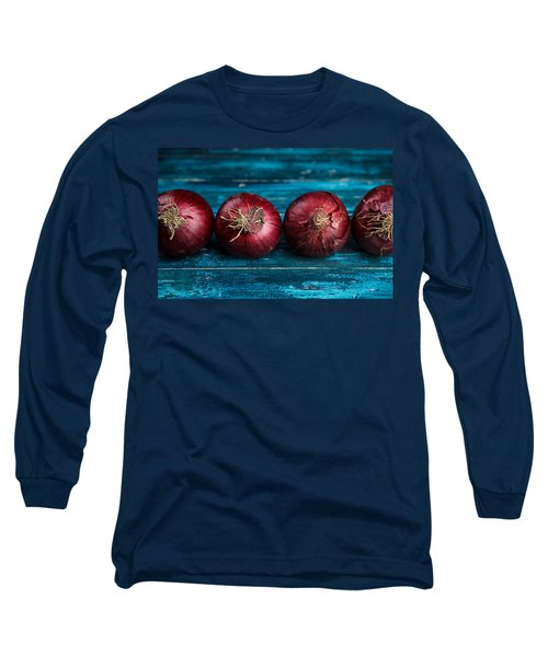 Red Onions Long Sleeve T-Shirt