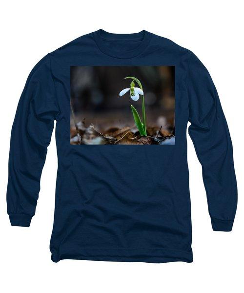 Snowdrop Flower Long Sleeve T-Shirt