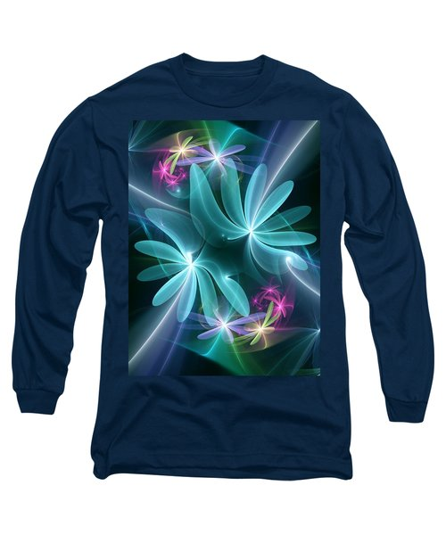 Ethereal Flowers Long Sleeve T-Shirt