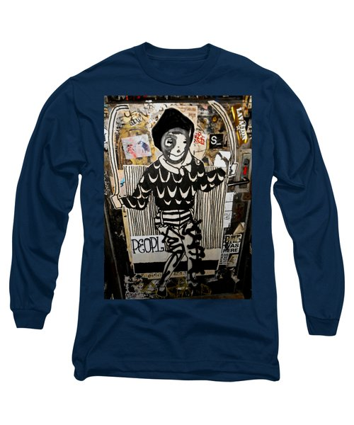 Long Sleeve T-Shirt featuring the photograph 4th St. Door by Joan Reese