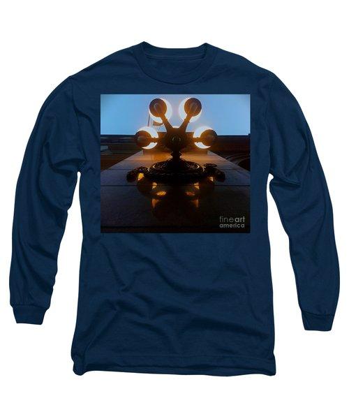 Long Sleeve T-Shirt featuring the photograph 5 Points Of Light by James Aiken