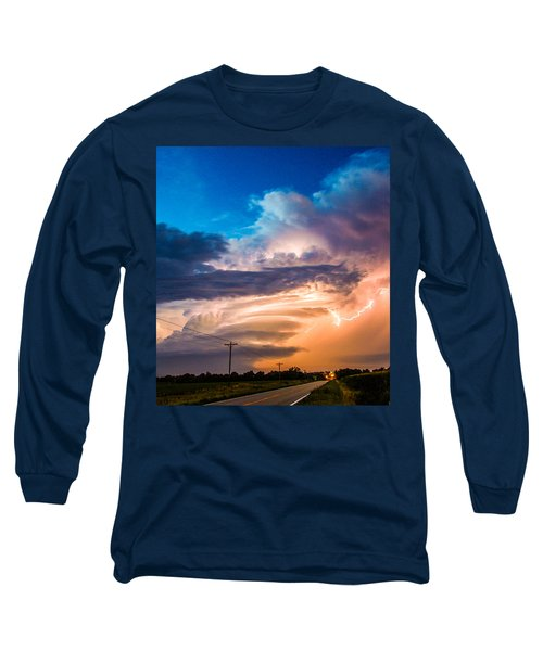 Wicked Good Nebraska Supercell Long Sleeve T-Shirt