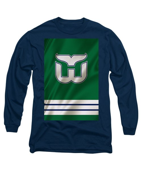 Hartford Whalers Long Sleeve T-Shirt