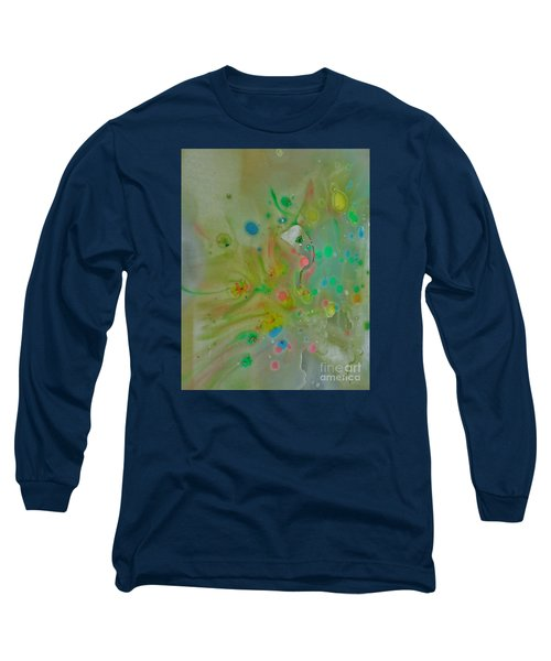 Long Sleeve T-Shirt featuring the photograph A Bird In Flight by Robin Coaker