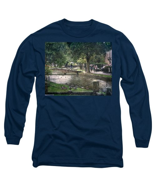 A Bit Of Rain Long Sleeve T-Shirt