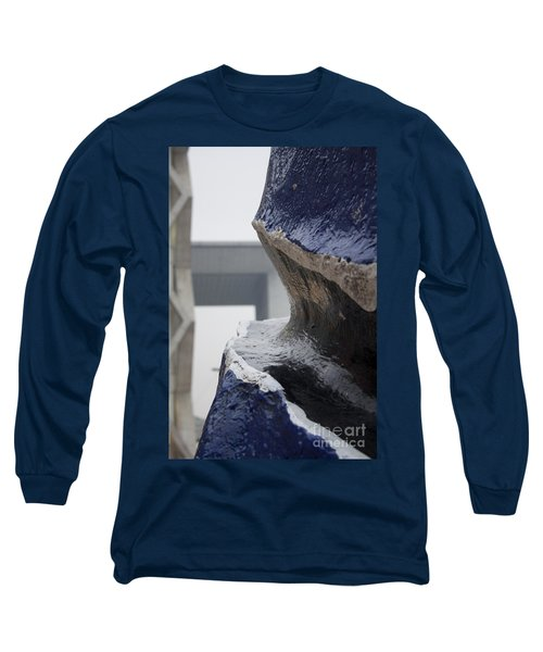 A Crack In The Panorama Long Sleeve T-Shirt