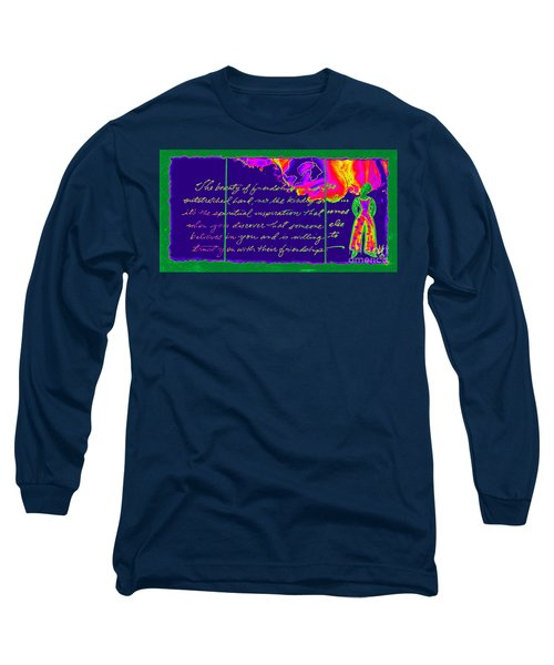 A Friendship Letter Long Sleeve T-Shirt