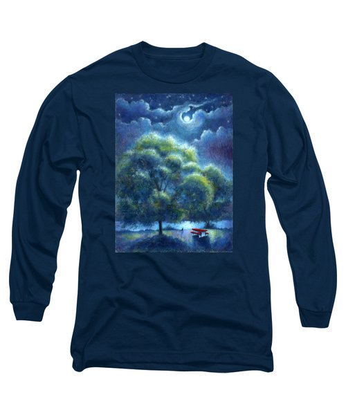 A Hope And A Future Long Sleeve T-Shirt by Retta Stephenson