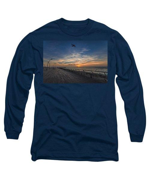 a kodak moment at the Tel Aviv port Long Sleeve T-Shirt
