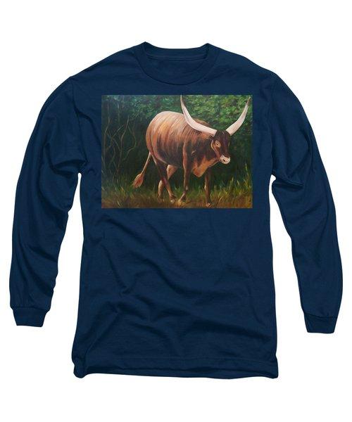 A Lot Of Bull, Watusi  Long Sleeve T-Shirt