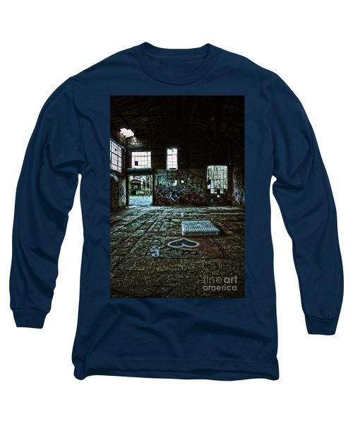 Long Sleeve T-Shirt featuring the photograph A Place With Heart by Debra Fedchin