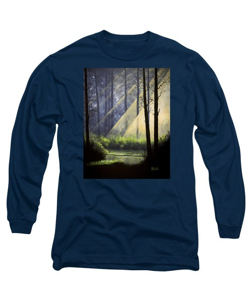 A Quiet Place Long Sleeve T-Shirt by Jack Malloch