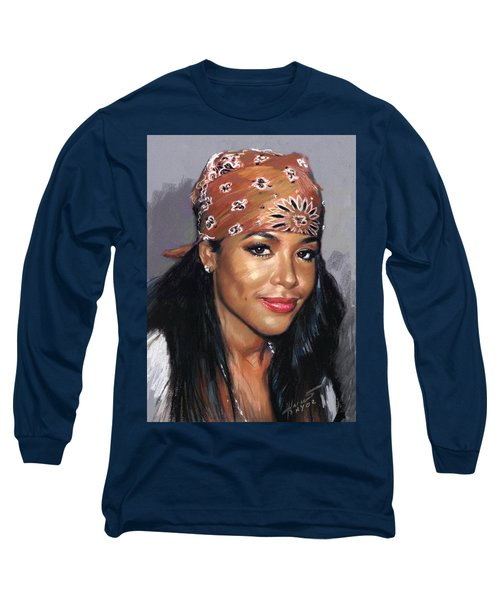 Aaliyah Long Sleeve T-Shirt by Viola El