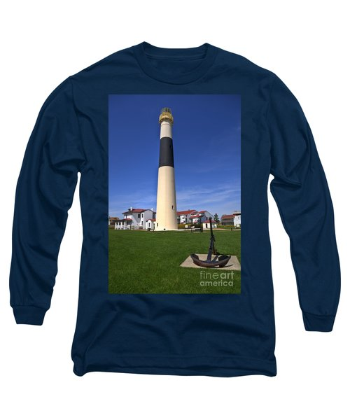 Absecon Lighthouse Long Sleeve T-Shirt by Anthony Sacco