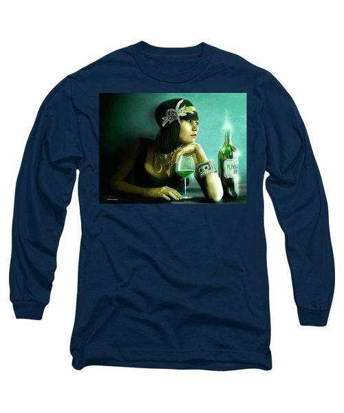 Absinthe Long Sleeve T-Shirt by Jason Longstreet