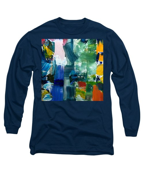 Abstract Color Relationships Lll Long Sleeve T-Shirt