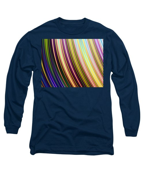 Long Sleeve T-Shirt featuring the digital art Abstract Colours by Ester  Rogers