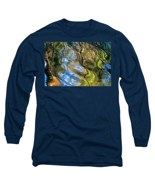 Long Sleeve T-Shirt featuring the photograph Abstract Of Nature by Kate Brown