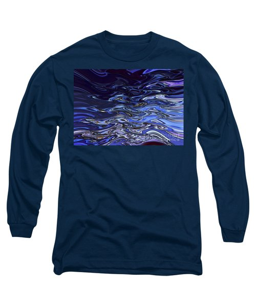 Abstract Reflections - Digital Art #2 Long Sleeve T-Shirt