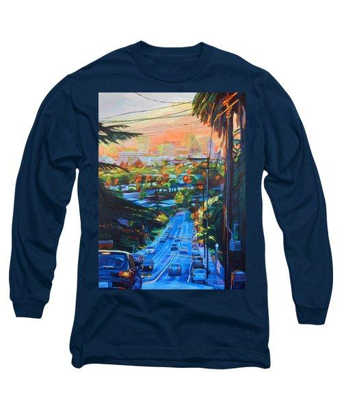 Towards The Light Long Sleeve T-Shirt by Bonnie Lambert