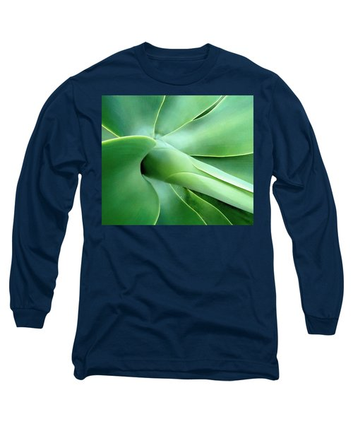 Agave Heart Long Sleeve T-Shirt by Peter Mooyman