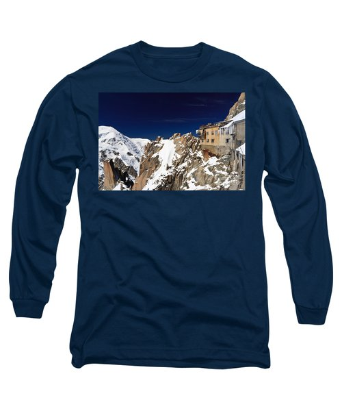 Aiguille Du Midi -  Mont Blanc Massif Long Sleeve T-Shirt