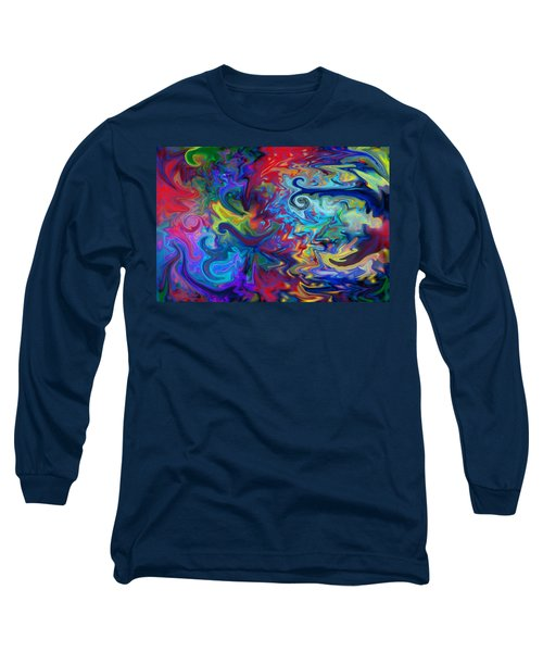 Long Sleeve T-Shirt featuring the digital art Aladdin's Lamp by Peggy Collins