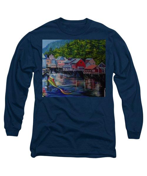 Alaska. Ketchikan Long Sleeve T-Shirt