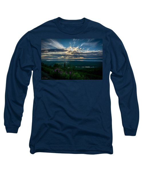 Alaskan Summer Sunset Long Sleeve T-Shirt