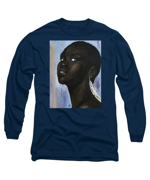 Alek Wek Long Sleeve T-Shirt
