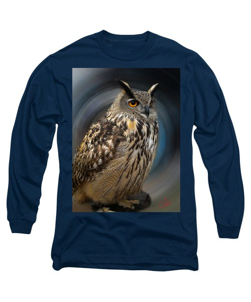 Almeria Wise Owl Living In Spain  Long Sleeve T-Shirt