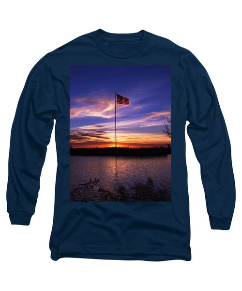 America The Beautiful Long Sleeve T-Shirt