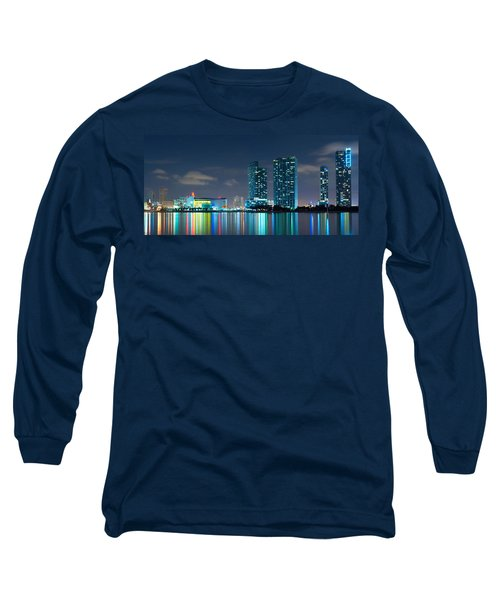 American Airlines Arena And Condominiums Long Sleeve T-Shirt
