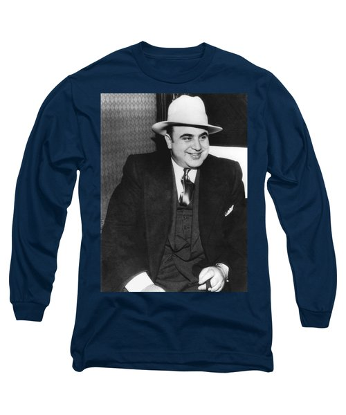 American Gangster Al Capone Long Sleeve T-Shirt