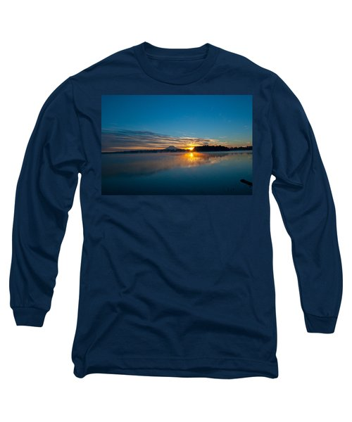 American Lake Sunrise Long Sleeve T-Shirt