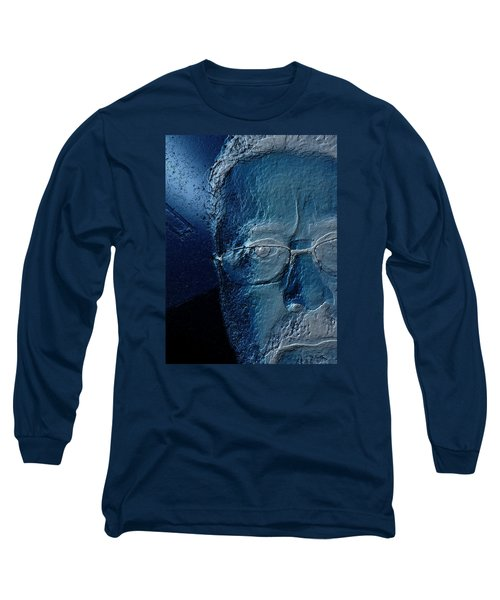Amiblue Long Sleeve T-Shirt by Jeff Iverson