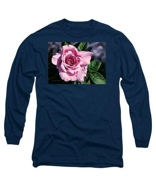 Amoure Long Sleeve T-Shirt by Lynda Hoffman-Snodgrass