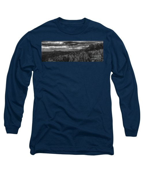 An Incoming Storm Over The Black Hills Of South Dakota Long Sleeve T-Shirt