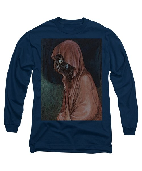 An Introvert Long Sleeve T-Shirt by Yvonne Wright