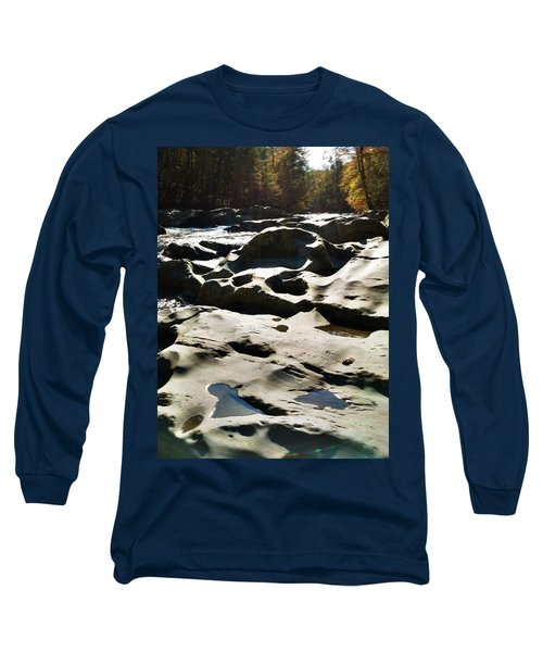 Long Sleeve T-Shirt featuring the photograph Ancient River by Janice Spivey