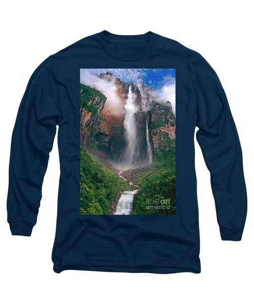 Angel Falls In Venezuela Long Sleeve T-Shirt