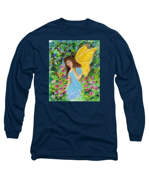 Angel Of The Garden Long Sleeve T-Shirt
