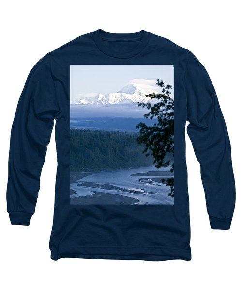 Another Denali View  Long Sleeve T-Shirt by Tara Lynn