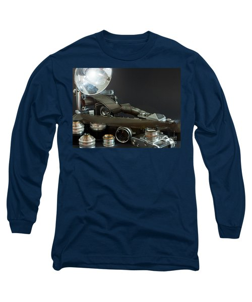 Antique Cameras Long Sleeve T-Shirt